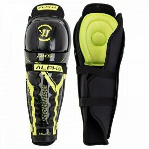 Защита коленей/голени WARRIOR DX5 SR Shin Grd арт.DX5SGSR9-15, р.15, пластик, полиэстер, черно-жел