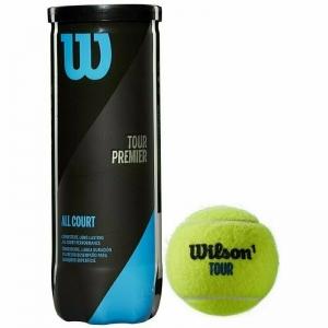 Мяч теннисный WILSON Tour Premier All Court арт. WRT109400, одобр.ITF, фетр, нат.резина,. уп.3 шт
