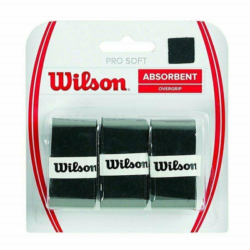 Овергрип Wilson Pro Soft Overgrip, арт. WRZ4040LI, 0,5 мм, размер 2,5см*120см,3 шт, салатовый
