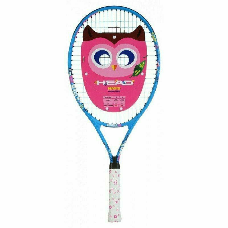 Ракетка теннисная детская HEAD Maria 23 Gr06, арт.233410, для 6-8 лет, алюминий, со струнами, сине-бело-розов