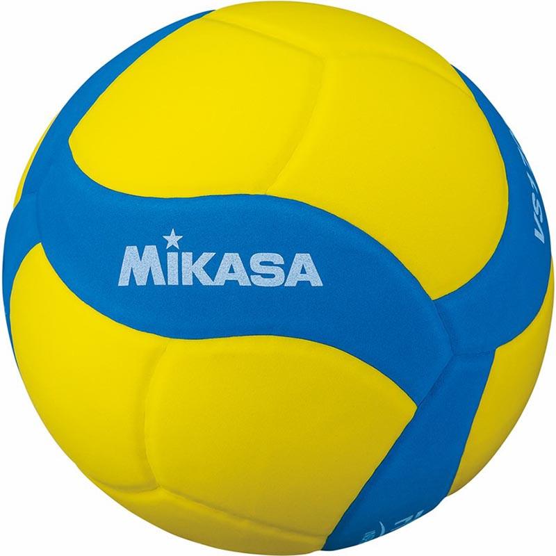 Мяч волейбольный  MIKASA VS170W-Y-BL , р.5, вес 160-180 г, FIVB Insp,синт.пена ТПЕ, клеен,18 пан,бутиловая камера ,жел