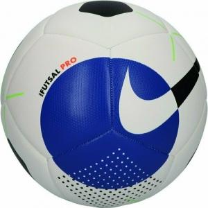 Мяч футзал NIKE Pro арт.SC3971-101, р.4, 12пан, мат. ТПУ, FIFA PRO, маш.сш, бело-черно-синий