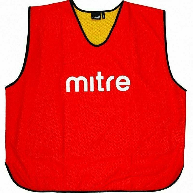 Манишка трен двухсторон MITRE арт.Т21916RN5-JR,(объем груди 90см) юниор, полиэстер, красн-желт T21916RN5-JR