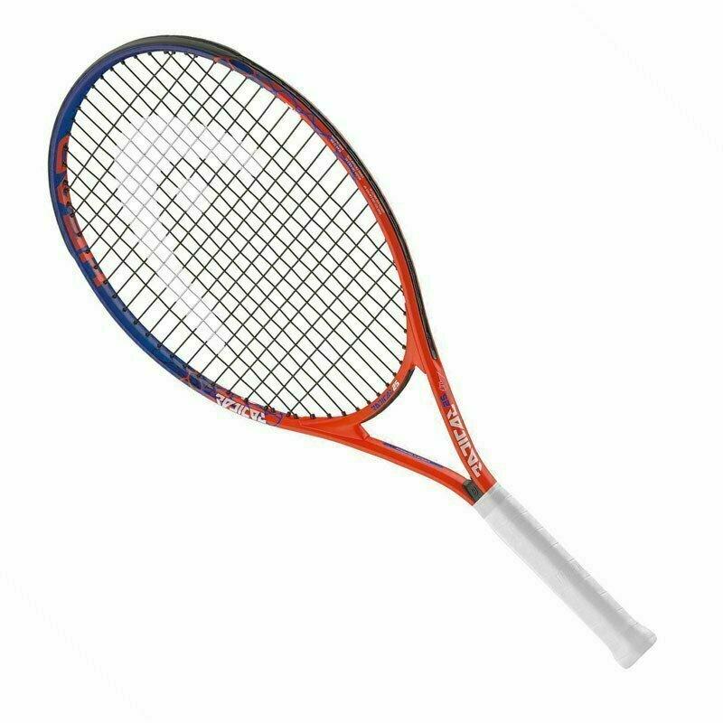 Ракетка теннисная детская HEAD Radical 21 Gr05, арт.233238, для 4-6лет, алюминий, со струнами, мультикол
