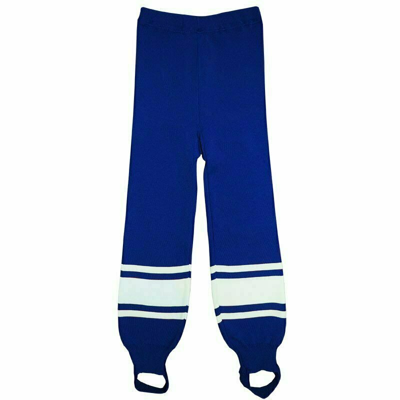 Рейтузы хоккейные  TORRES Sport Team арт. HR1109-03-168, размер 44, рост 168, полиэстер, васильково-бел