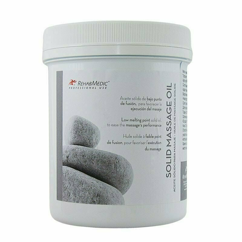 Масло массажное твёрдое RehabMedic SOLID MASSAGE OIL, арт. RMG0801001, 1 л