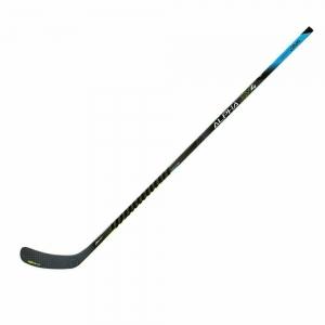 Клюшка хоккейная WARRIOR ALPHA DX4 75 Larkin5, арт.DX475G9-LFT, жесткость 75, лев, жел-бел-чер