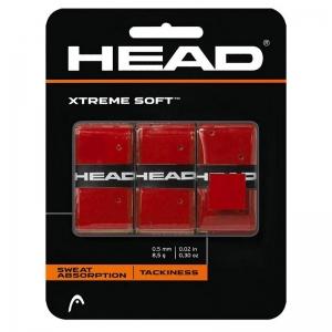 Овергрип Head Xtreme Soft (КРАСНЫЙ), арт.285104-RD, 0.5 мм, 3 шт, красный