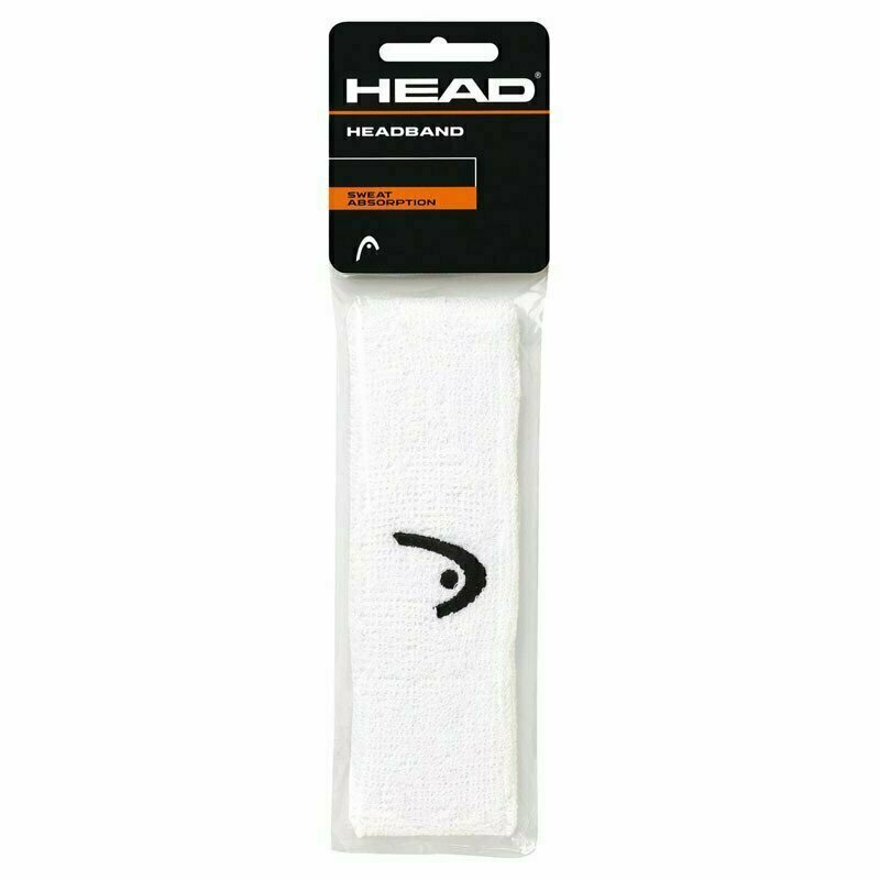 Повязка на голову HEAD 2 (БЕЛАЯ) арт.285080-WH, ширина 5 см, хлопок, нейлон, эластан, белая