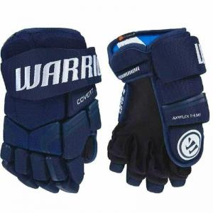 Перчатки хоккейные  WARRIOR QRE4 арт.Q4G-RL-11, р.11, нейлон, ЭВА,яркосиний