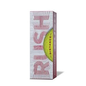 Мяч для гольфа Pinnacle Rush,арт.P4135S-15PBIL, 3 шт/уп, желтый