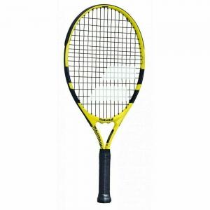 Ракетка теннисная детская BABOLAT Nadal 21 Gr000, арт.140247, для 5-7 лет, алюминий, со струнами,черно-желтый