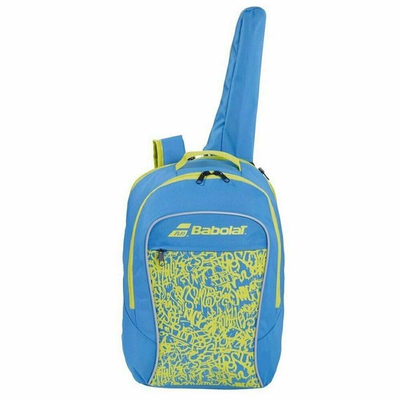 Рюкзак спортивный  BABOLAT Junior Club арт.753083-325 с карм. под 1 тен.ракетку, сине-зеленый