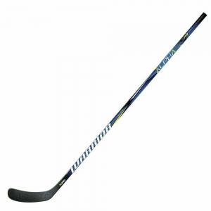 Клюшка хоккейная подростковая WARRIOR ALPHA QX3 75 Backstrm5, арт. QX375G7-RGT,жест.75, прав,чер-син-бел