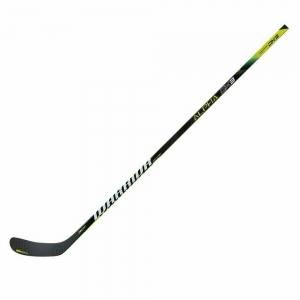 Клюшка хоккейная WARRIOR ALPHA DX3 85 LarkinW71, арт.DX385G9-LFT, жесткость 85, лев, жел-бел-чер