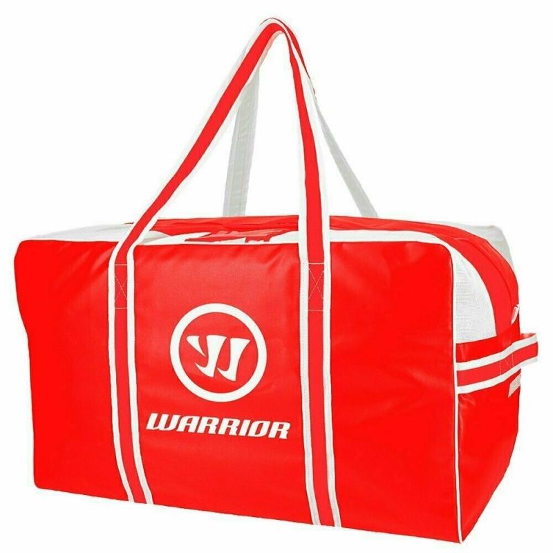 Сумка-баул спортивная  WARRIOR PRO Hky Bag Med арт.WPHPB7-RD, полиэстер, р-р 71х38х38см, красно-белый