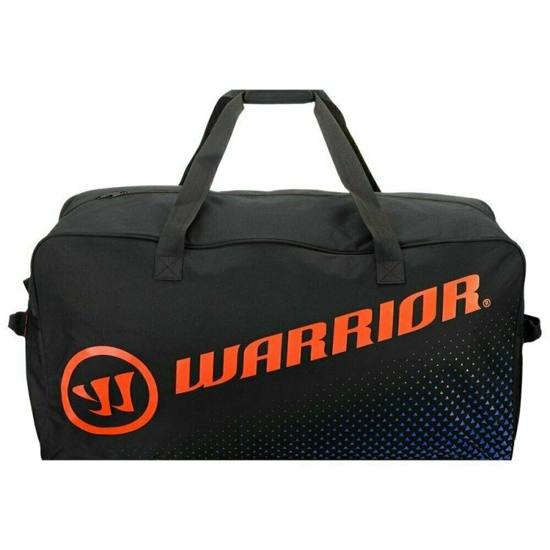 Сумка-баул спортивная  WARRIOR Q40 Carry Bag Med арт.Q40CRYM8-BOB, полиэстер, 81х41х36см,черно-оран-син