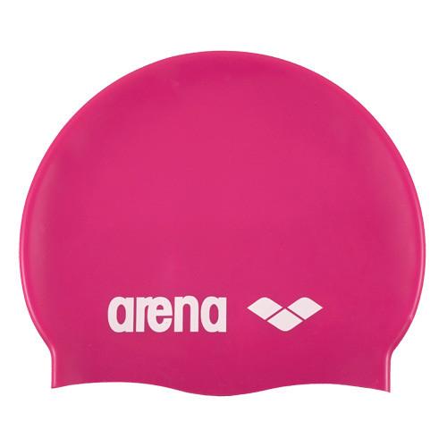 Шапочка для плавания  ARENA Classic Silicone , арт.9166291, РОЗОВЫЙ, силикон