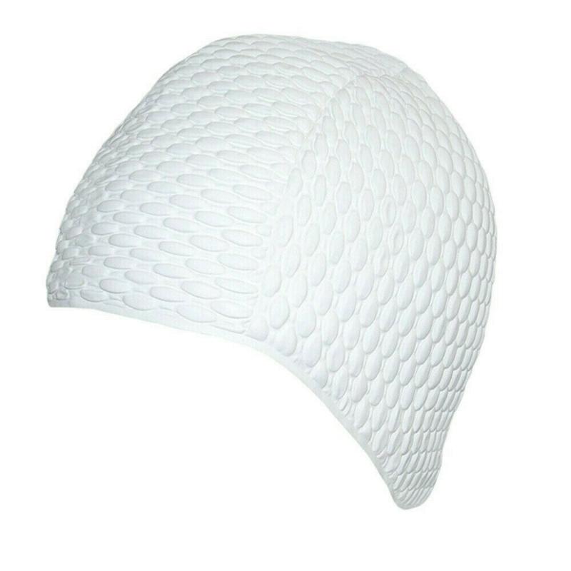 Шапочка для плавания жен. FASHY Babble Cap , арт.3115-10, резина, белый