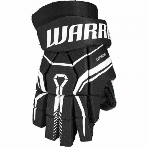 Перчатки хоккейные  WARRIOR QRE40 арт.Q40GS0-BK-13, р.13, нейлон, ЭВА, черный Q40GS0-BKV-13