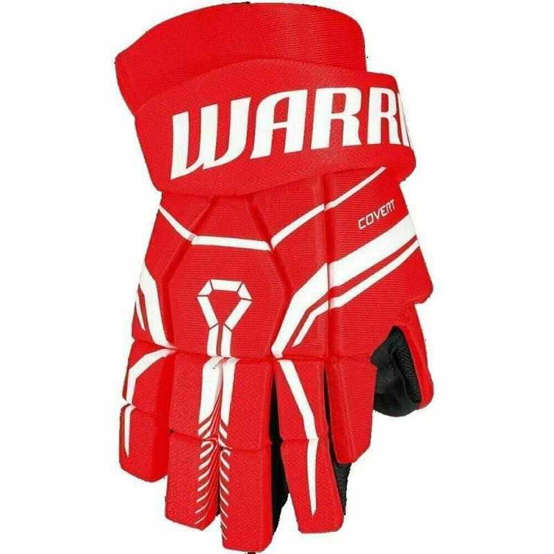 Перчатки хоккейные  WARRIOR QRE40 арт.Q40GS0-RD-14, р.14, нейлон, ЭВА, красный