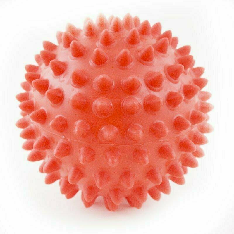 Мяч массажный, арт. 300109, КРАСНЫЙ, диам. 9 см, поливинилхлорид PALMON