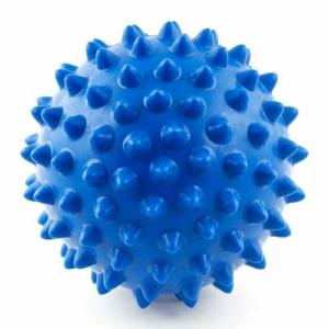 Мяч массажный, арт. 300110, СИНИЙ, диам. 10 см, поливинилхлорид PALMON