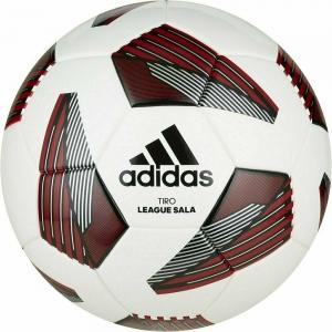 Мяч футзальный ADIDAS Tiro League Sala арт. FS0363, р.4, ТПУ, 28 пан., термосш., бело-красно-черный