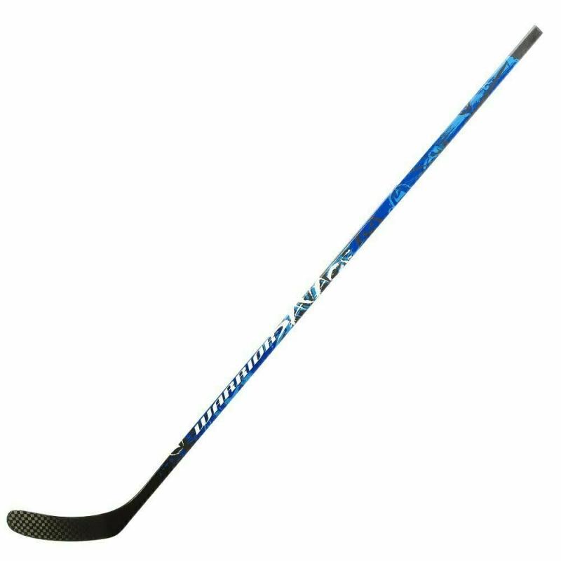 Клюшка хоккейная WARRIOR Savage Kovalev 85, арт.SA85G-RGT, жесткость 85, прав, сине-бел-чер