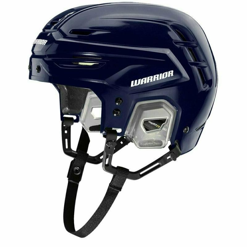Шлем хоккейный WARRIOR ALPHA ONE PRO HELMET, арт. APH8-NW- L, р.L, темносиний APH8-NW-L