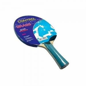 Ракетка для настольного тенниса Butterfly Grass, для начинающих, короткие шипы, без губки, кон. ручка