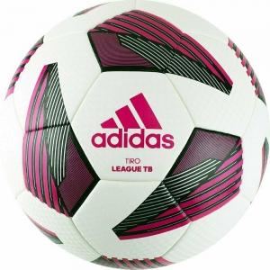 Мяч футбольный  ADIDAS Tiro Lge Tb арт. FS0375, р.4, ТПУ, 32 пан., термосшивка, бело-красно-черный
