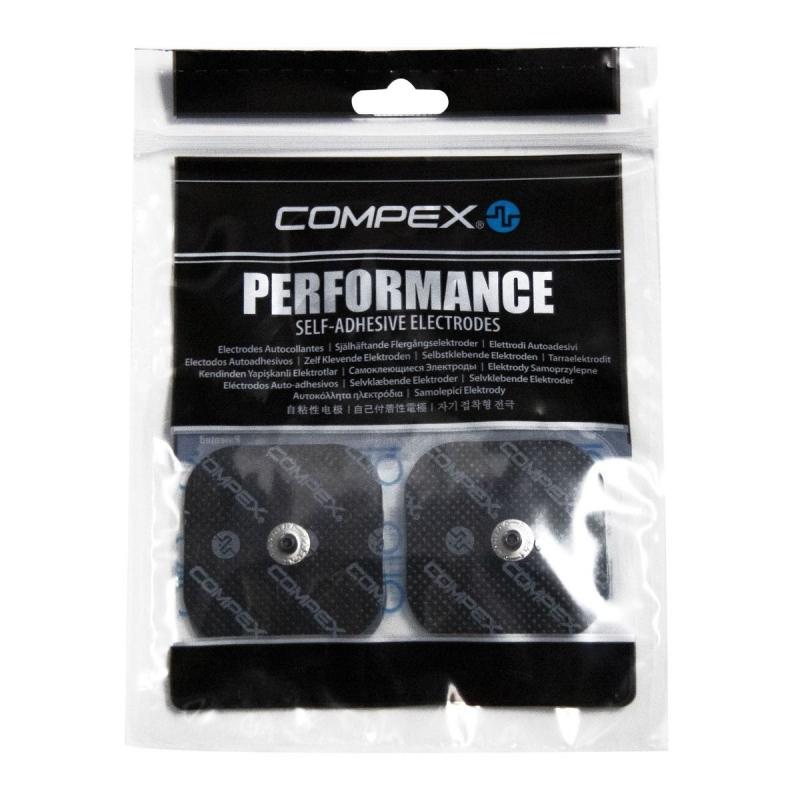 Электроды для миостимуляции COMPEX Performance Snap 5 х 5 см (4шт. в уп), арт. 42215