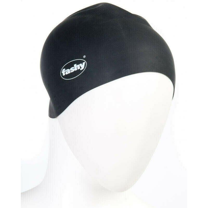 Шапочка для плавания  FASHY Silicone Cap , арт.3040-20, силикон, черный