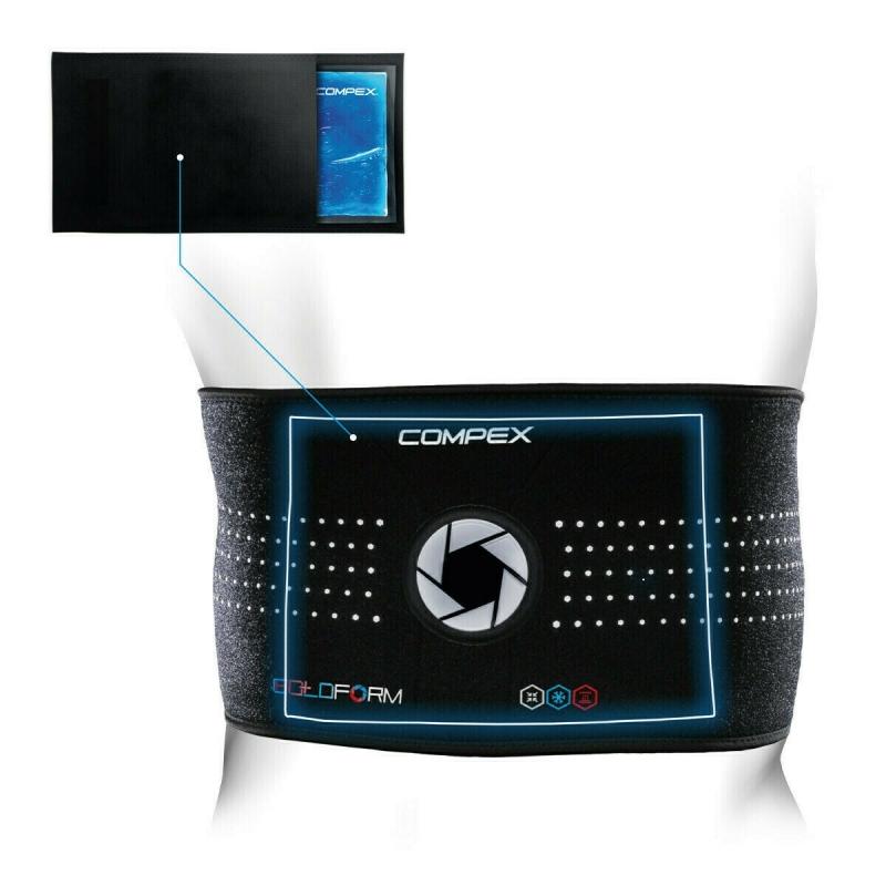 Бандаж спины Compex COLDFORM BACK с гелевым вкладышем,размер L/XL, арт. 3-0028-LXL-FG