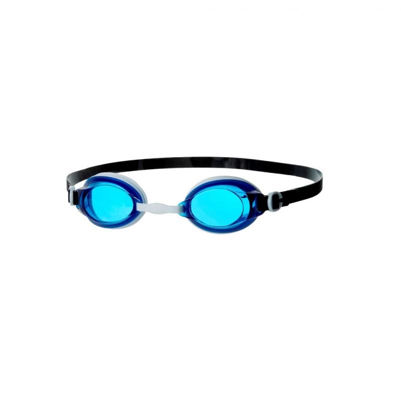 Очки для плавания  SPEEDO Jet , арт.8-092978577, СИНИЕ линзы, белая оправа