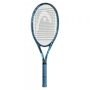 Ракетка теннисная HEAD MX Attitude Elit Gr2, арт.234321, для любителей, композит,со струнами, сине-бирюз