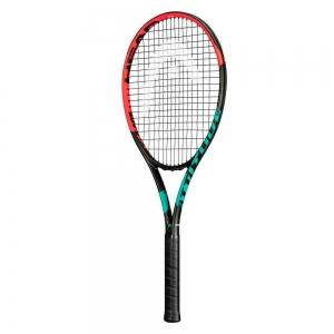 Ракетка теннисная HEAD MX Attitude Tour Gr3, арт.234301, для любителей, композит, со струнами,черно-оранж.