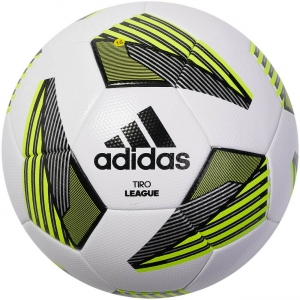 Мяч футбольный  ADIDAS Tiro Lge Tsbe арт. FS0369, р.4, ТПУ, 32 пан., термосшивка, бело-желтый