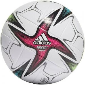Мяч футбольный  ADIDAS Conext 21 Lge арт. GK3489, р.4, 6 пан., ТПУ, термосшивка, бело-синий