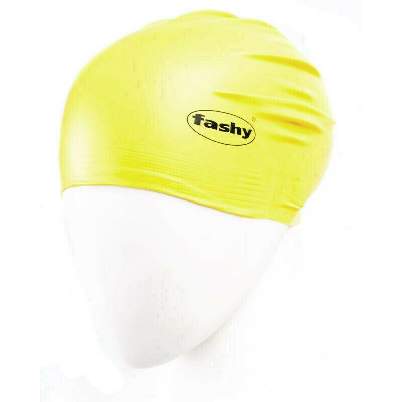 Шапочка для плавания  FASHY Flexi-Latex Cap , арт.3030-00-45, латекс, желтый