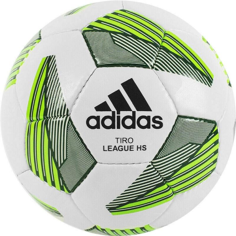 Мяч футбольный  ADIDAS Tiro Match League HS арт. FS0368, р.4, ПУ, 32 пан., ручная сшивка , бело-зеленый
