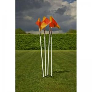 Флаг угловой MITRE арт. A9110WA1,с несъем.штыком,КОМПЛ.4 шт,выс.170 см,разъемн,пластик,бел-мультик