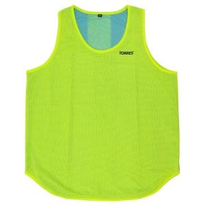 Манишка TORRES двухсторонняя, арт.TR12146Y/B, р.Sr, тренировочная, полиэстер, желто-синяя