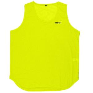 Манишка TORRES односторонняя , арт.TR12144YL, р.Sr, тренировочная, полиэстер, желтый