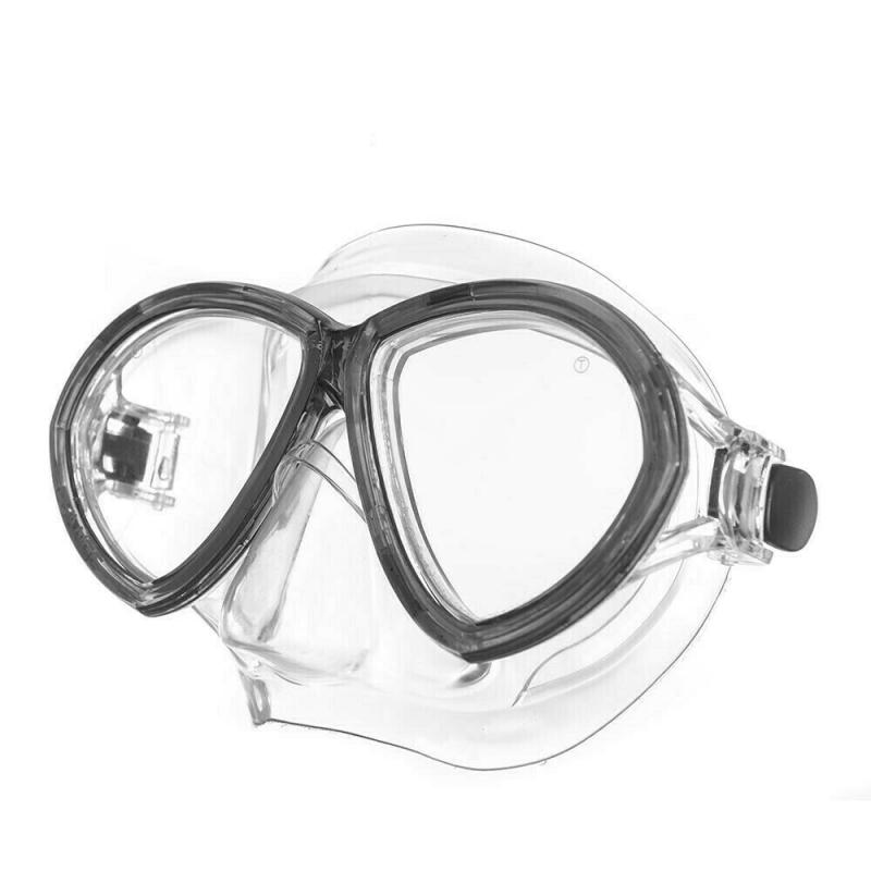 Маска для плав. Salvas Change Mask , арт.CA195C2TNSTH, закален.стекло, Silflex, р. Senior, черный