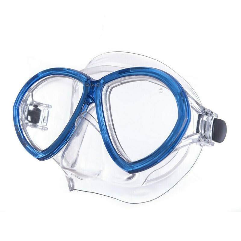 Маска для плав. Salvas Change Mask , артCA195C2TBSTH, закален.стекло, Silflex, р. Senior, синий