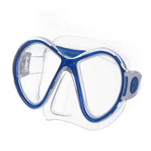 Маска для плав. Salvas Kool Mask , арт.CA550S2TBSTH, закален.стекло, силикон, р. Senior, синий