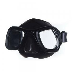 Маска для плав. Salvas Sphera Black Sil. , арт.CA570N2NNSTH,закален.стекло, силикон, р.Senior, черн