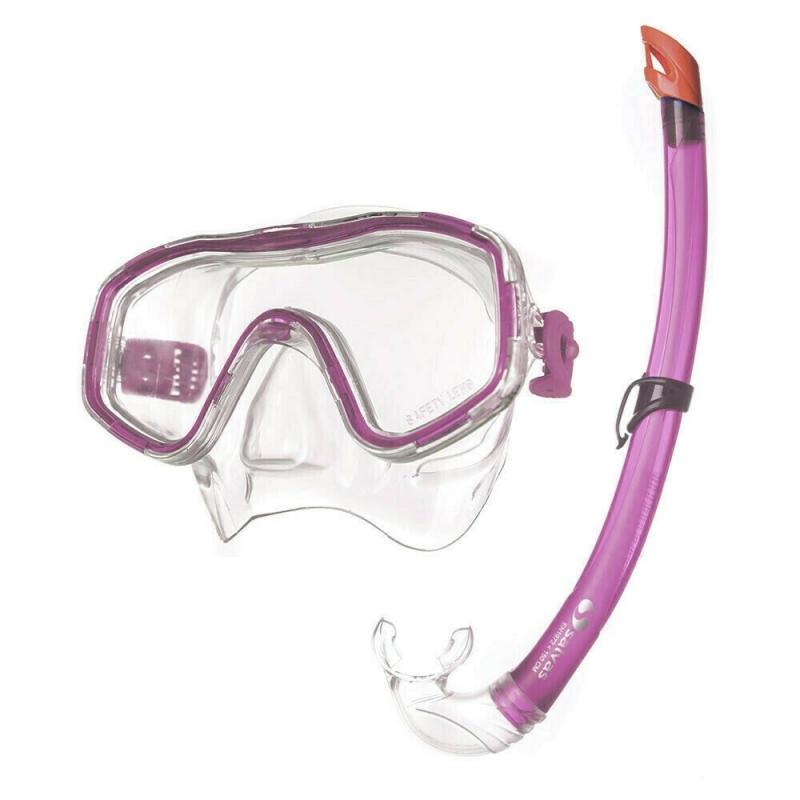 Набор для плавания Salvas Easy Set , арт.EA505C1TFSTG, р. Junior, розовый